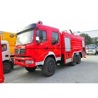 Quality Dongfeng AWD 6x6 Off Road Fire Fighting Truck With Frame Structure Type wholesale