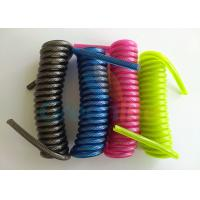 Buy cheap 4'' Retractable Security Cable Deluxe Coil Strap 1.2-8.0MM Dia Without End Fittings from wholesalers