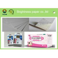 Quality Customized Size Ivory Card Making Paper , Bulk Cardboard Sheets For Craft wholesale