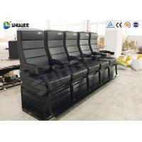 Quality Environmental Motion Chair 4D Cinema Equipment With Metal Flat Screen wholesale