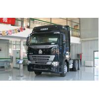 Quality SINOTRUK HOWO A7 6 * 2 / 6 * 4 Tractor Trailer Truck , Heavy Duty Tractor Head Truck wholesale