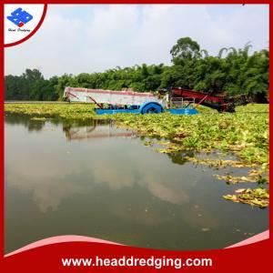 Quality high performance aquatic weed harvester water plntas harvesting machine wholesale