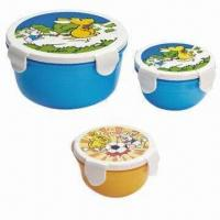 Quality Food Container Set, Made of PP, BPA-free, Available in Various Sizes and Colors, FDA/EN 71 Certified wholesale