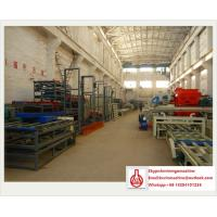 China Automatic Eps Sandwich Panel Mgo Board Production Line for Cement / Mgo / Wood Saw Powder on sale