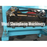 Quality 0.2mm - 0.7mm Glazed Tile Roll Forming Machine High Speed With Infeed Guides wholesale