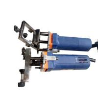 Quality Long Life Portable Manual Water Slot Milling Upvc Machine For Door Window wholesale