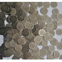 Quality Micron Hole Size stainless steel filter disc , wire filter mesh diameter 5mm wholesale