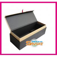 Quality Custom Rigid Paper / Cardboard / Wooden Offset or UV Printing Wine Packaging Boxes wholesale