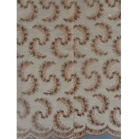Quality Eco-Friendly Soft Nigerian Lace Fabrics For Children Clothing wholesale