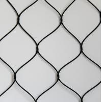 China Knotted Stainless Steel Woven Wire Mesh Screen For Animals Protection on sale