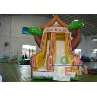 Quality Residential Backyard Rent Inflatable Slides Indoor With Tree Shape wholesale