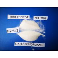 Quality Sodium Sulfite Chemical Formula Na2SO3, Antimicrobic Sodium Sulfite Anhydrous  For Food wholesale