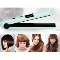 China Small 1''portable Rechargeable Hair Straighteners Hair Styling Iron 20*3.4*3.8cm /easy operation/ on sale