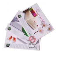 Quality 120, 157, 200 GSM coated / glossy pape Advertising 4C Booklet, Colour Brochure Printing wholesale