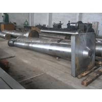 China Marine Propeller Shaft Forged Ship / Boat Rudder Stock Alloy Steel Material on sale