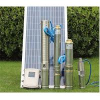 Quality Multi Stage DC Solar Water Pump Solar Stainless Steel 38mm Outlet High Pressure wholesale