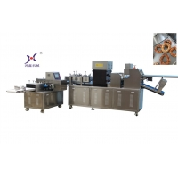 China 304 Stainless Steel Bagel Bread Pastry Production Line on sale