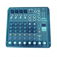 China MX8010FX 4 Mono + 2 Stere channels MINI Audio Mixer,Console Mixer on sale