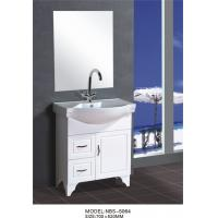 Quality 70 X48X85/cm PVC floor mounted bathroom cabinet / bathroom vanity / with mirror for bathroom wholesale