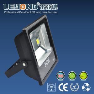 China Flip Chip Bridgelux / Epistar High Output Led Flood Lights Outdoor High Power 80 Watt Slim Type on sale