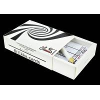 China Ekka Poker in 0.32mm Thick Plastic Blackjack Size With Calculation card & Pencil on sale