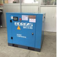 Quality 7.5KW 10HP dircect driven 116psi 42cfm low noise air cooling screw air compressor wholesale