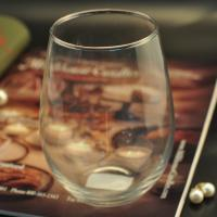 Quality Handmade Glass Tableware , engraved glass tumblers for whisky and red wine wholesale