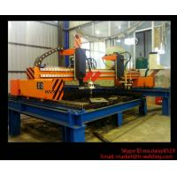 Cheap Industrial CNC Cutting Machine Flame / Plasma With American Hypertherm DEGD for sale