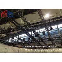 Quality RidaTent Outdoor Stage Light Truss , Aluminium Truss System Heavy Loading Capacity wholesale