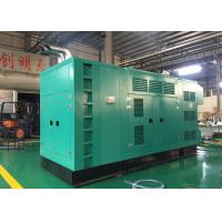Quality Industrial 625KVA Quiet 3 Phase Diesel Generator Water Cooled Type wholesale
