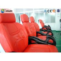 Quality Business Center 5D Cinema Equipment With Safety Chair / Push Back Function wholesale