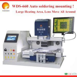Quality Hot Air &IR & laser positioning 3 in 1 BGA Rework Station Reballing kit Hot Air Rework Soldering station wholesale