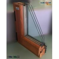 Quality High grade Three layers glass Aluminium Window Profiles in apartment building wholesale