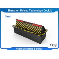 Quality 380V 3 phase Automatic Car Park Blocker Hydraulic Road Barrier For Checkpoint wholesale