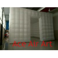 Cheap 3.6mL x3.6mW*2.4mH Wonderful Cube led inflatable Tent/Inflatable Lighting Studio for sale