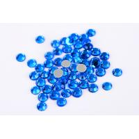 Quality Small Loose Octagon Heat Fix Rhinestones 1.5mm - 10mm With Even Facets wholesale