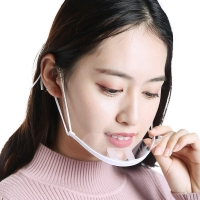 Quality Clear ABS PET Hygiene Face Mask For Reception Staff wholesale