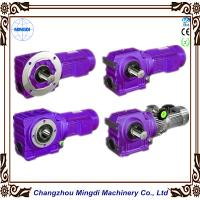 Quality Bevel / Miter Gearing K series Reducer Gear box With Electric Motor <80DdB Level wholesale