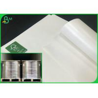 China 40G TO 350G C1S White Craft Paper / Ivory Board With PE coated Cup Paper Reels on sale