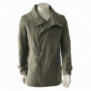 Quality Men's Fashionable Windbreaker/Casual Jacket/Leisure Coat with Stylish Design wholesale