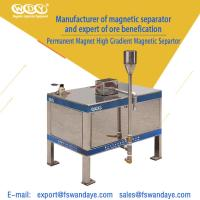 Quality High Magnetic Field Intensity Magnetic Separator Machine Eliminate Iron Completely wholesale