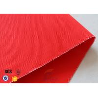 Quality 480GSM Plain Weave Acrylic Coated Fiberglass Fabric For Industrial Fire Blanket wholesale