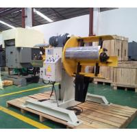 China Double Head  Sheet Decoiling Machine For Heavy Steel Coil Press on sale