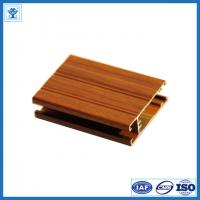 China 6063 Wood -Grain Aluminium Extrusion Profile for Window and Door on sale