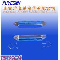 Buy cheap 14 24 36 50 Solder Pin DDK Centronics Connector Female Type With Spring Latches product