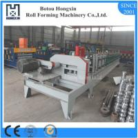 Quality C U Purlin Roll Forming Machine , Flying Saw Cutting Steel Roll Forming Machine wholesale