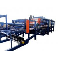 Quality Colored Steel PU Sandwich Panel Production Line , Roof Panel Roll Forming Equipment wholesale