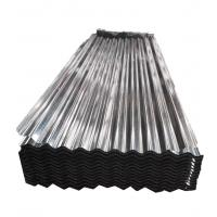 China 20 Gauge Corrugated Galvanized Steel Sheet 40 - 275 G/M2 Zinc Coating on sale