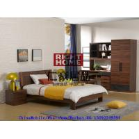 Quality 2016 New Nordic design by Wlalnut Kids Bedroom Furniture in Single bed and Nightstand with Reading Bookcase wholesale