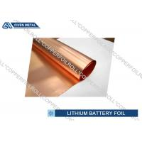 Quality Li - ion Battery Cathode Basic Material electrodeposited copper foil roll wholesale